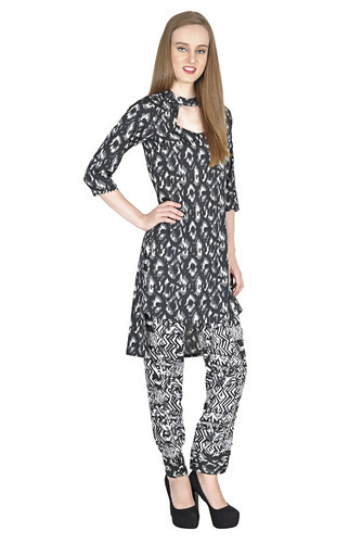 8b015a35 Dark Navy Crepe Ladies Designer Wear, Rs 760 /piece, Simbha ...