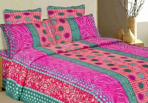 Bed Sheets - Flower Print Bed Sheets Wholesaler from Madurai