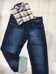 Designer Shirt With Denim