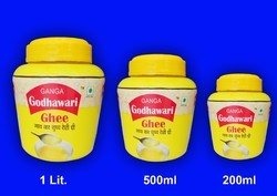 Ganga Godhawari Ghee Yellow Desi Ghee, Pack Size: 12, Packaging Type: Pouch