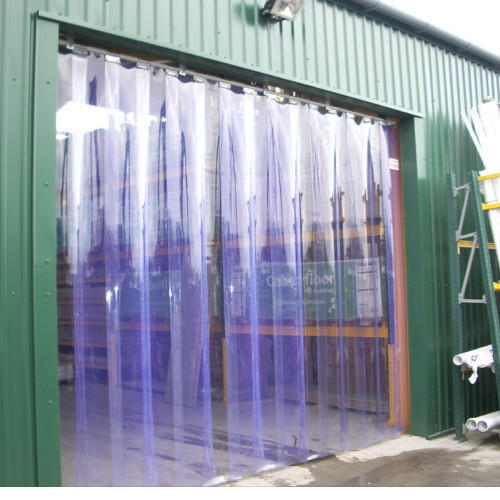 White Pvc Strip Curtains For Shower Curtain Rs 120