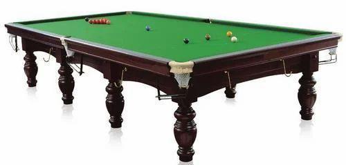 Wooden And Slates Billiards Snooker Pool Tables Brand New Billiard Table,  Model Number: TBBRITISH011, Rs 135000 /set   ID: 13303718930