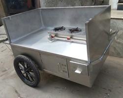 Hand Pushed Momos Food Cart (hottie)