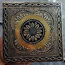 Golden Brass Tiles, Thickness: 8 - 10 mm