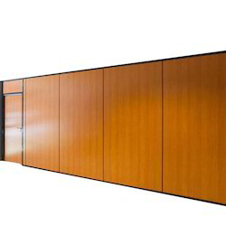 Brown Residential Wood Partition