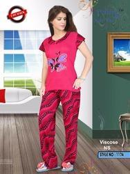 Viscose Night Suit