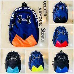 09dcfb04b2 PP And PVC Red And Blue Under Armour Backpacks