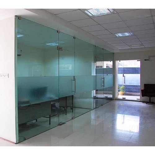 Patch Fitting Glass Partitions