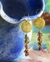 Gold Earring Photography