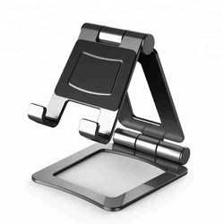 Aluminum Alloy Gun Metal Tablet Stand for Ipad, Size: Small