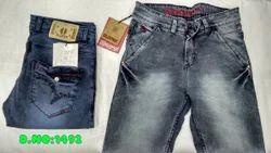 Plain Comfort Fit Men Denim Jeans, Yes