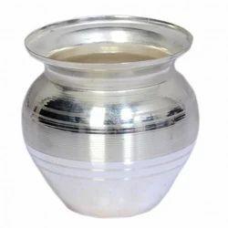 Silver Coated Pooja Kalash