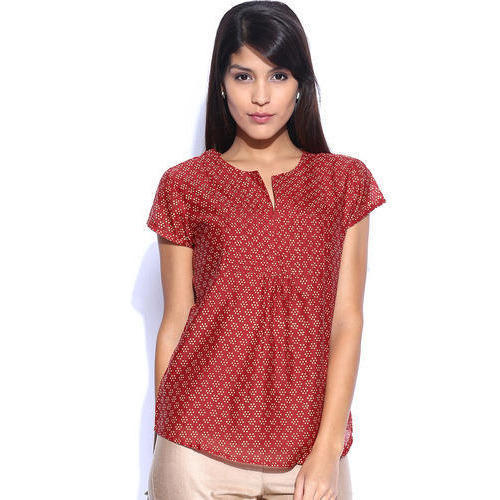 4961e1387f504 Women Printed Cotton Top at Rs 300 /piece   Cotton Printed Top   ID ...