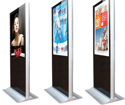 Sungard Exhibition Stand Here Alone : Led standee wholesaler from nashik