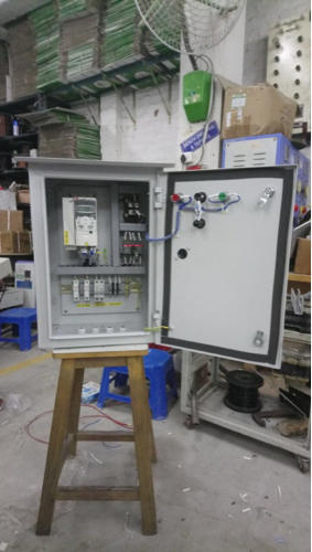 Automatic Phase Changeover Switch Solar Pump Control