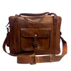 Genuine Leather Traveling Luggage Bag LUGG108