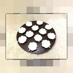 12 Dips Round Platter