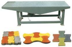 Vibrating Table With Molds