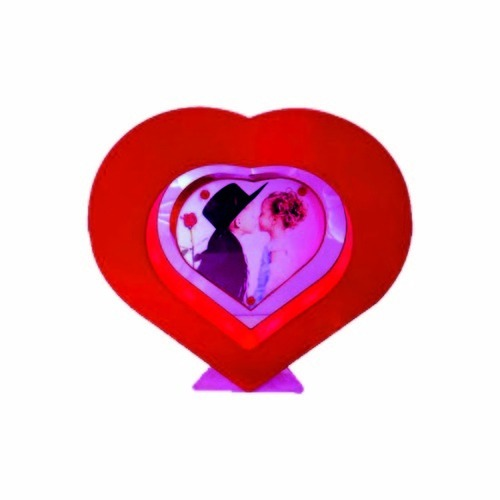 Plastic Rotating Magnetic Heart Frames, प्लास्टिक का ...