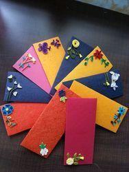 Paper Quilling Envelopes