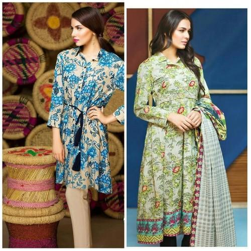 Cambric Cotton Printed Unstitched Salwar Kameez