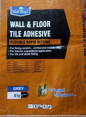Tile Adhesive And Tile Grout Joint Filler Manufacturer Bharat