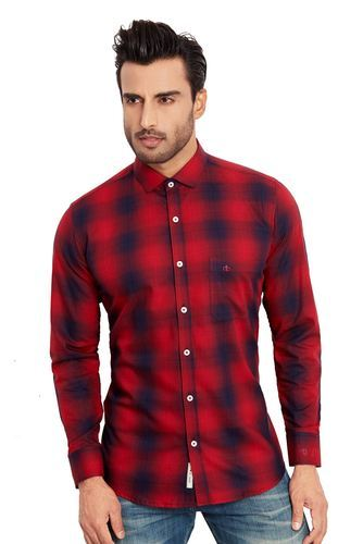 Casual Red Checks shirt