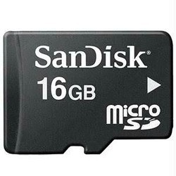 SanDisk 16GB Micro SD, for Tablet, Size: MicroSD