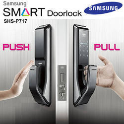 Samsung Digital Door Lock Shs P717 Pushpull