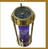 Compass With Sand Timer