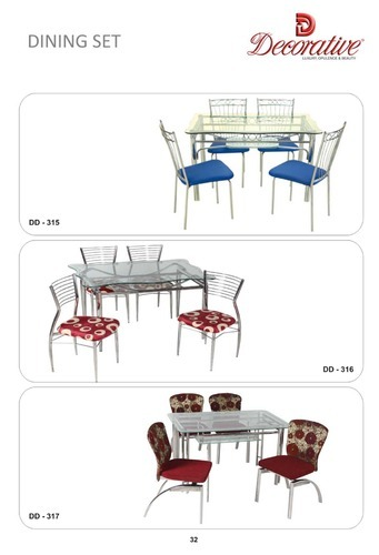 steel dining table at rs 10000 piece s ghatkopar west mumbai