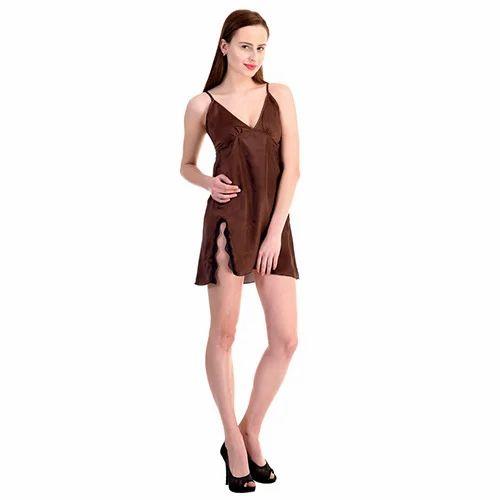 Nighties Plain Night Dress 55e1367dc