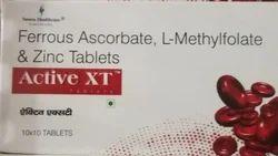 Active-xt L Arginine, Packaging Type: Strip