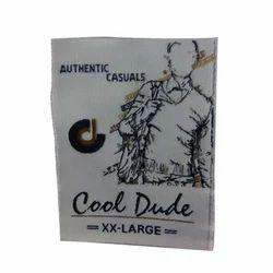 Rectangular Garments Label