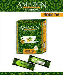 Amazon Instant Ginger Tea Premix Single Serve Sachet Pack