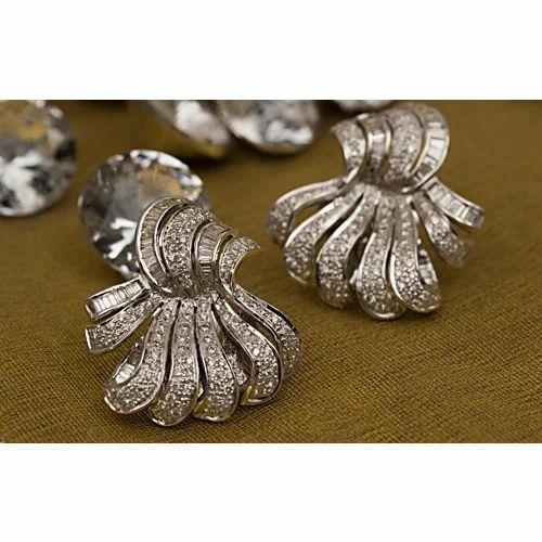 Real Diamond Cly Women Earrings