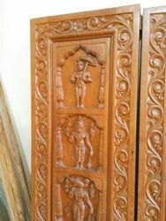 Dash Avtara Temple Door & Anjanadevi Wood Carving u0026 Furniture Bengaluru - Manufacturer of ...