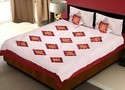 Silk Bedlinen Cushion And Pillow Covers Set 427