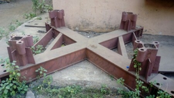 Tower Crane Base Frame
