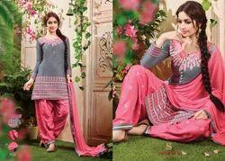 Cotton Embroidered Designer Stylish Salwar Suit