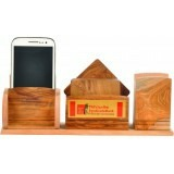Wooden Table Top with Mobile Stand Set