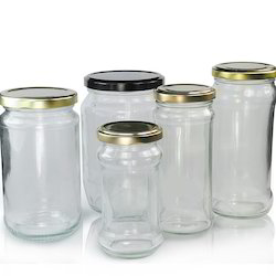 Jam Pickle Glass Jar