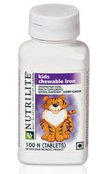 NUTRILITE Kids Chewable Iron 100N tablets