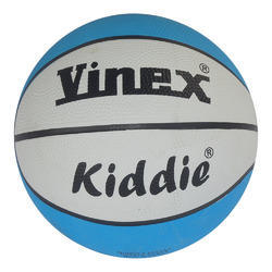 Rubber Vinex Basketball Kiddie, For Play Ground, Size: 6-7 Inch
