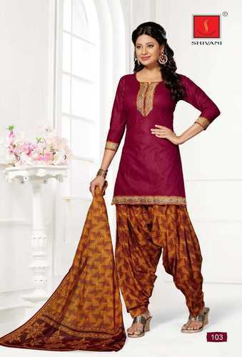 1c9544915f Chanderi Cotton Suits at Rs 550 /unit(s) | Chennai | ID: 11144027662