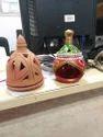 Clay Decorative Lantern
