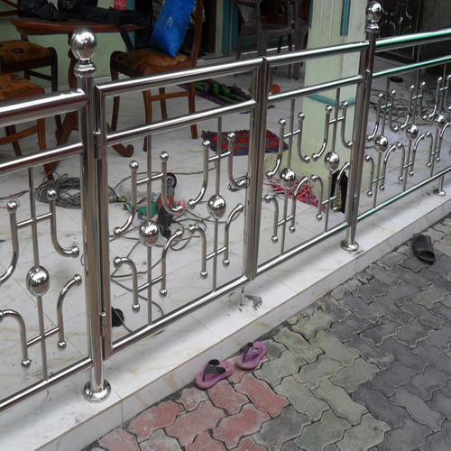 SS Fancy Railings at Rs 950 /feet   Stainless Steel ...