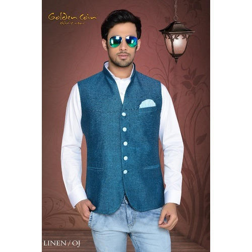 e072a7fe7 Mens Modi Jacket - View Specifications   Details of Nehru Jacket by ...