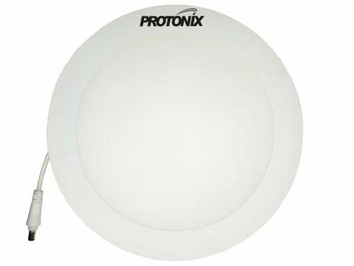 Ceramic And Iron 22 Watt LED Round Panel Light