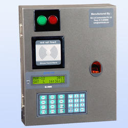 GSM Industrial Access Control System